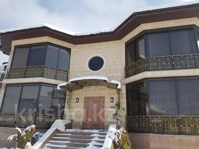 8-комнатный дом помесячно, 450 м², 12 сот., мкр Мирас, Аскарова Асанбая 62 за 1.2 млн 〒 в Алматы, Бостандыкский р-н