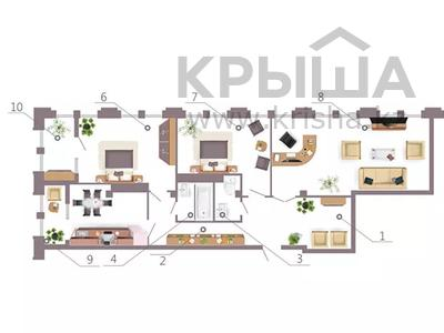 3-комнатная квартира, 123.96 м², пр-т. Мәңгілік Ел стр. 35 за ~ 47.1 млн 〒 в Нур-Султане (Астана), Есиль р-н — фото 2