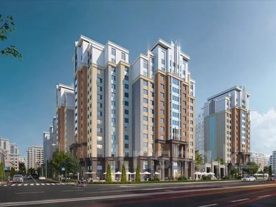 3-комнатная квартира, 100.61 м², 7/13 этаж, Туркестан 28/2 за ~ 47.2 млн 〒 в Нур-Султане (Астана), Есиль р-н