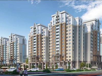 3-комнатная квартира, 100.61 м², 7/13 этаж, Туркестан 28/2 за ~ 47.2 млн 〒 в Нур-Султане (Астана), Есиль р-н — фото 3