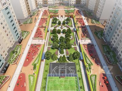 3-комнатная квартира, 100.61 м², 7/13 этаж, Туркестан 28/2 за ~ 47.2 млн 〒 в Нур-Султане (Астана), Есиль р-н — фото 6