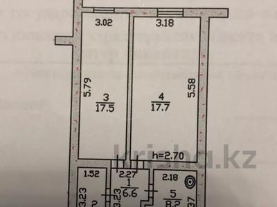 2-комнатная квартира, 55 м², 4/4 этаж, Оркен 24 за 6 млн 〒 в Жанаозен — фото 3