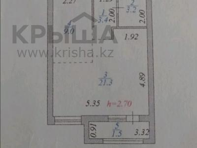 1-комнатная квартира, 38.3 м², 4/12 этаж, Мангилик Ел 40 за 16.7 млн 〒 в Нур-Султане (Астане), Есильский р-н