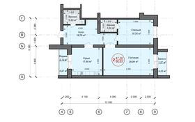 2-комнатная квартира, 98 м², 5/5 этаж, мкр. Батыс-2 11Г за ~ 26.7 млн 〒 в Актобе, мкр. Батыс-2