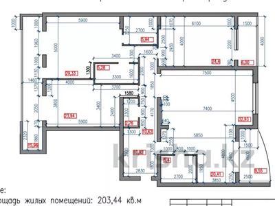4-комнатная квартира, 203 м², 9/12 этаж, Касымова 28 — Попова за 100 млн 〒 в Алматы, Бостандыкский р-н — фото 2