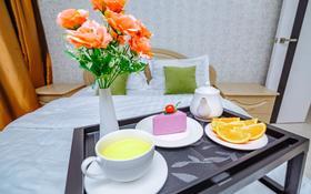 1-комнатная квартира, 50 м², 4/10 этаж посуточно, Бектурова 3 — Туран за 10 000 〒 в Нур-Султане (Астана), Есиль р-н