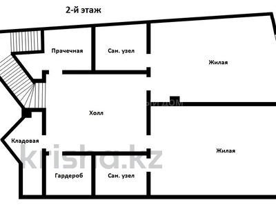 4-комнатная квартира, 249.9 м², 1/2 этаж, мкр Ерменсай, Ремизовка — Аль-Фараби за 92.2 млн 〒 в Алматы, Бостандыкский р-н — фото 12