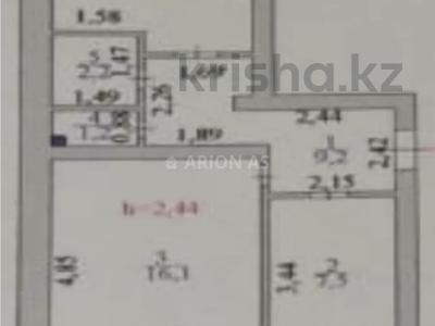 2-комнатная квартира, 49.2 м², 4/6 этаж, Жумабека Ташенова 13 за ~ 15.7 млн 〒 в Нур-Султане (Астана), р-н Байконур — фото 6