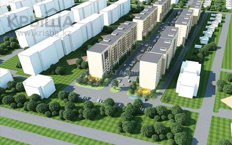 1-комнатная квартира, 47 м², 4/9 этаж, мкр Думан-2 276 за ~ 9.3 млн 〒 в Алматы, Медеуский р-н
