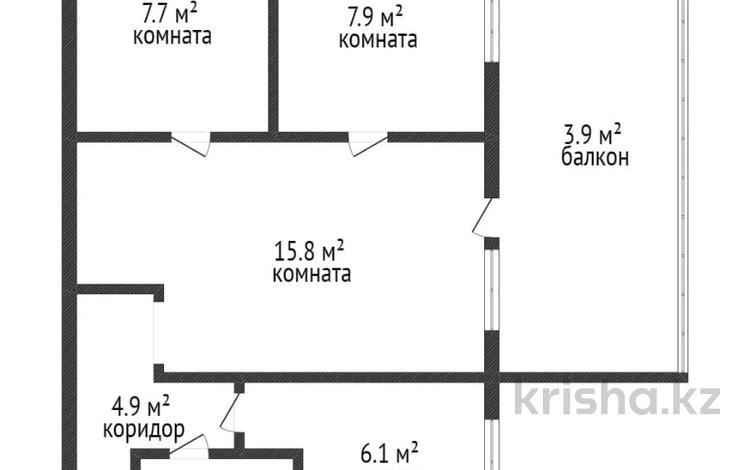 3-комнатная квартира, 51 м², 1/5 этаж, Волынова за 14.8 млн 〒 в Костанае