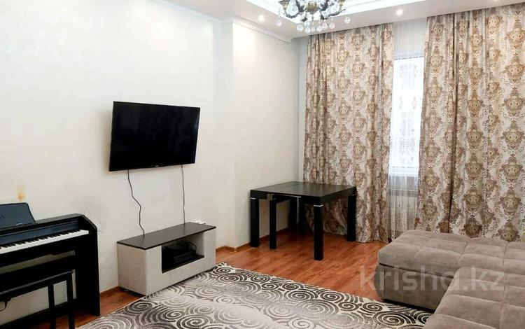 2-комнатная квартира, 84 м², 6/11 этаж, Туркестан 8 за ~ 33.3 млн 〒 в Нур-Султане (Астана), Есиль р-н