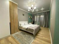 2-комнатная квартира, 80 м², 7/10 этаж посуточно, Достык 14 за 15 000 〒 в Нур-Султане (Астане), Есильский р-н