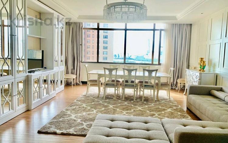 4-комнатная квартира, 177 м², 12/25 этаж, Байтурсынова 1 за 110 млн 〒 в Нур-Султане (Астана)