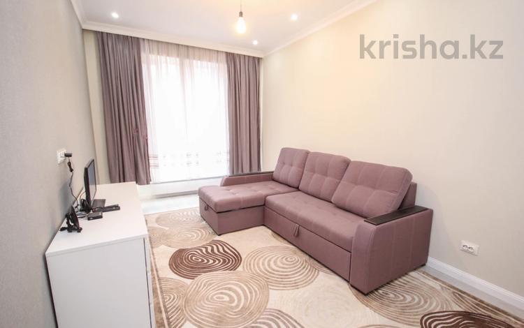 1-комнатная квартира, 38 м², 1/14 этаж, Хусаинова за 32 млн 〒 в Алматы, Бостандыкский р-н
