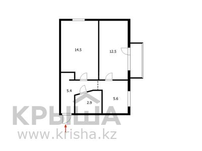 2-комнатная квартира, 43 м², 5/5 этаж, Таха Хусейна за 15 млн 〒 в Нур-Султане (Астана), р-н Байконур — фото 5