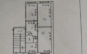 3-комнатная квартира, 61.6 м², 1/5 этаж, 14 мкр. за 10.5 млн 〒 в Караганде, Октябрьский р-н