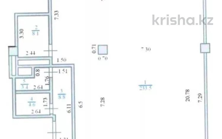 Помещение площадью 258 м², проспект Рахимжана Кошкарбаева 2 за 150 млн 〒 в Нур-Султане (Астана), Алматы р-н