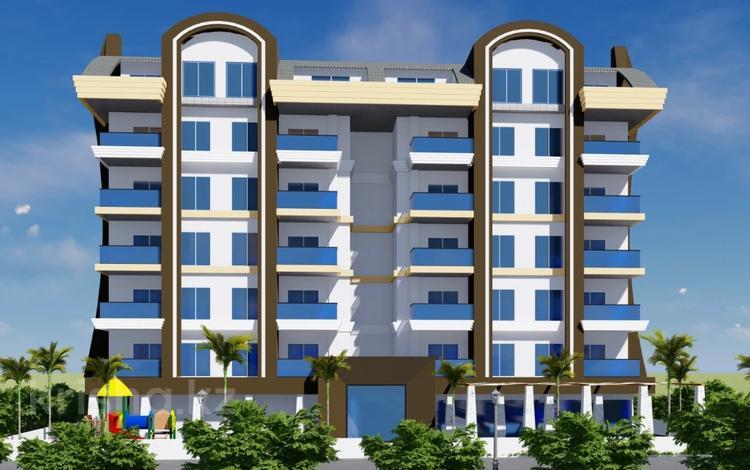 2-комнатная квартира, 56 м², 1/5 этаж, Махмутлар за 23.7 млн 〒 в