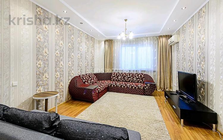 2-комнатная квартира, 80 м², 22/25 этаж посуточно, Каблукова 270 — Розыбакиева за 17 000 〒 в Алматы, Бостандыкский р-н