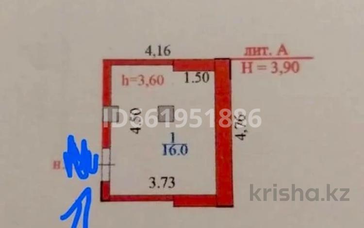 Помещение площадью 16 м², Улы далы 21/1 — 38-я улица за 2.2 млн 〒 в Нур-Султане (Астана), Есиль р-н