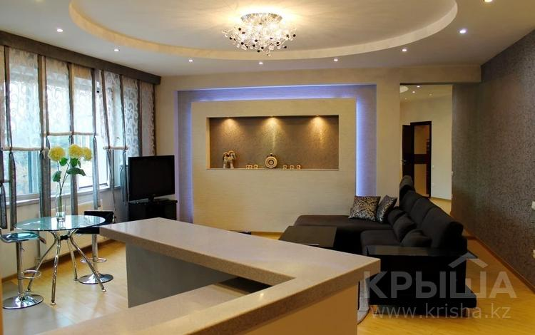 2-комнатная квартира, 80 м² помесячно, Достык 97 за 400 000 〒 в Алматы, Медеуский р-н
