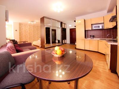 1-комнатная квартира, 50 м², 4/25 этаж посуточно, Абиша Кекилбайулы 270 за 12 990 〒 в Алматы, Бостандыкский р-н