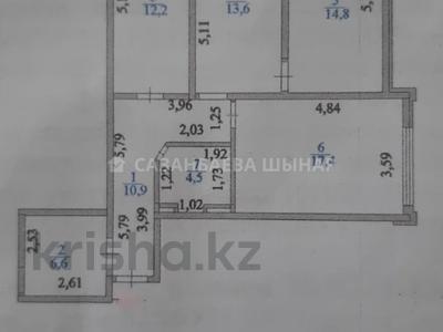 3-комнатная квартира, 80 м², 5/18 этаж, проспект Бауыржана Момышулы 15/3 за 30.8 млн 〒 в Нур-Султане (Астане), Алматы р-н