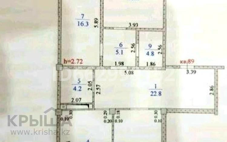 3-комнатная квартира, 114 м², 6/12 этаж, 12-й мкр 35 за 15 млн 〒 в Актау, 12-й мкр