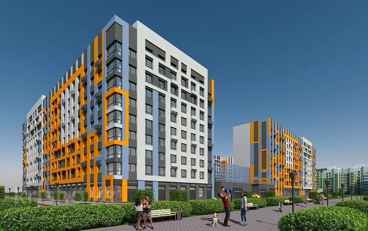 2-комнатная квартира, 49.35 м², Толе би — Е-10 за ~ 13.9 млн 〒 в Нур-Султане (Астана), Есиль р-н