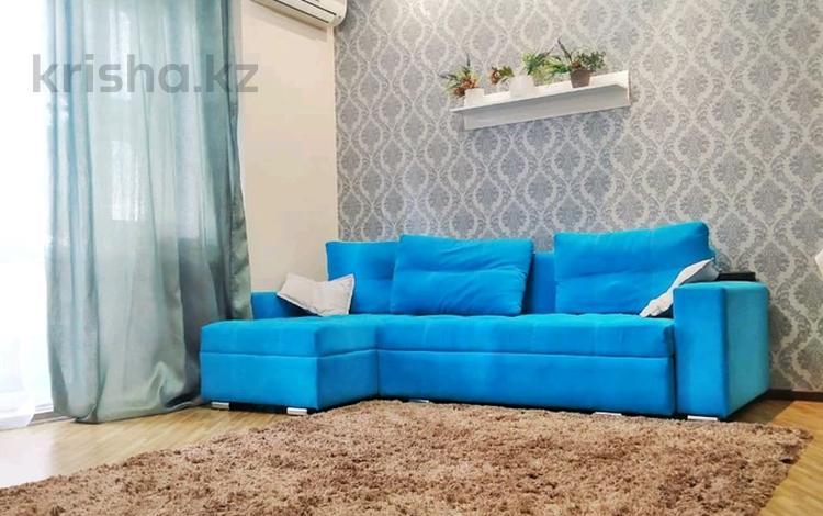 2-комнатная квартира, 55 м², 10/16 этаж посуточно, Навои 208 — Торайгырова за 16 000 〒 в Алматы, Бостандыкский р-н