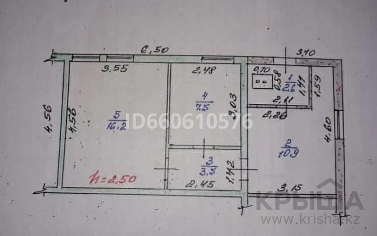 2-комнатный дом, 40.5 м², 2 сот., Сулеева за 5.5 млн 〒 в Талдыкоргане