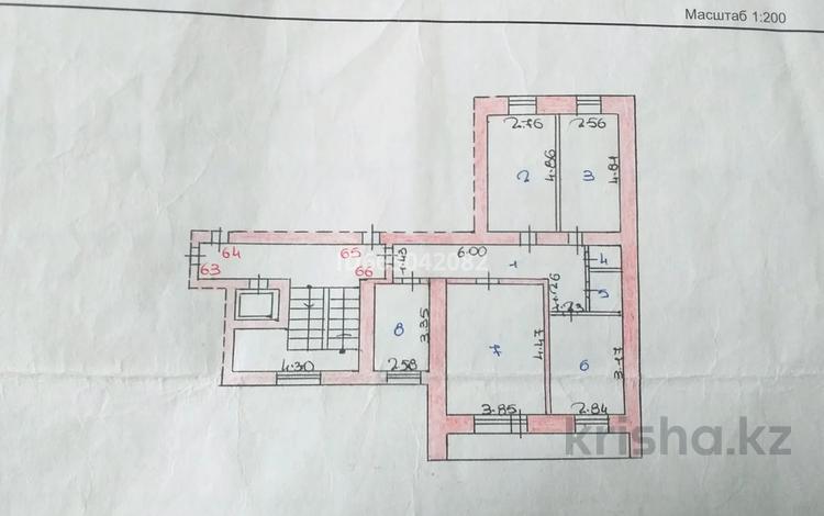4-комнатная квартира, 74 м², 8/9 этаж, мкр Майкудук, 19й микрорайон 55 за 16.5 млн 〒 в Караганде, Октябрьский р-н