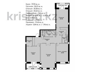 3-комнатная квартира, 142.15 м², мкр Ак-Шагала, ул. 2 84 за ~ 54 млн 〒 в Атырау