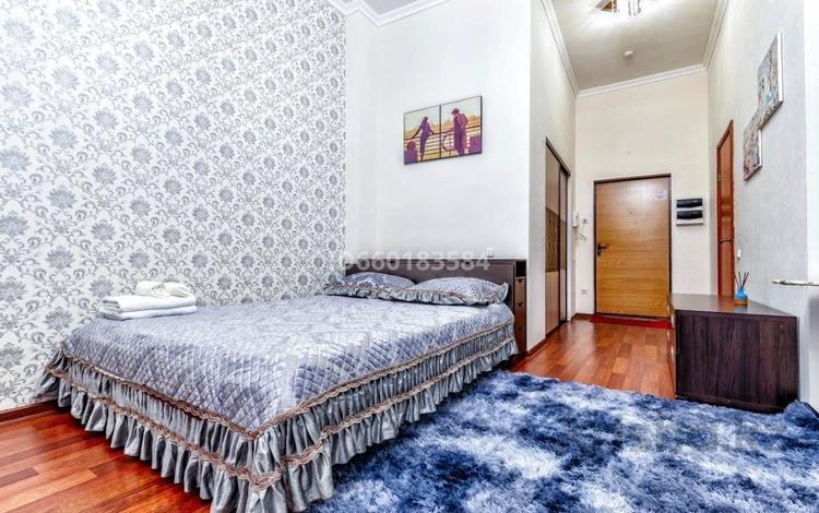 1-комнатная квартира, 40 м², 1 этаж посуточно, Динмухамеда Кунаева 12 за 10 000 〒 в Нур-Султане (Астана), Есиль р-н