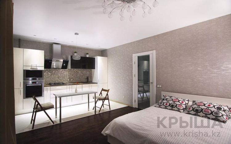 1-комнатная квартира, 45 м², 8/16 этаж по часам, Абая 130 — Розабакиева за 2 000 〒 в Алматы, Бостандыкский р-н