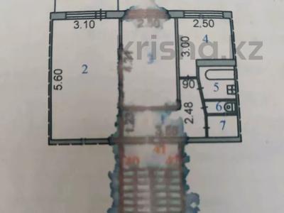 2-комнатная квартира, 44.7 м², 4/5 этаж, 15 микрорайон 12 за 6.5 млн 〒 в Караганде, Октябрьский р-н — фото 9