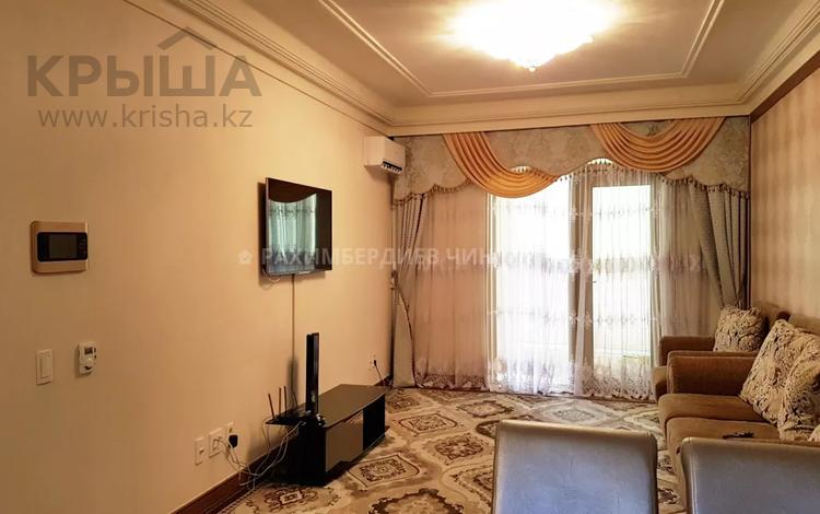 3-комнатная квартира, 120 м², 12/16 этаж помесячно, Аскарова Асанбая 6 — проспект Аль-Фараби за 350 000 〒 в Алматы, Бостандыкский р-н