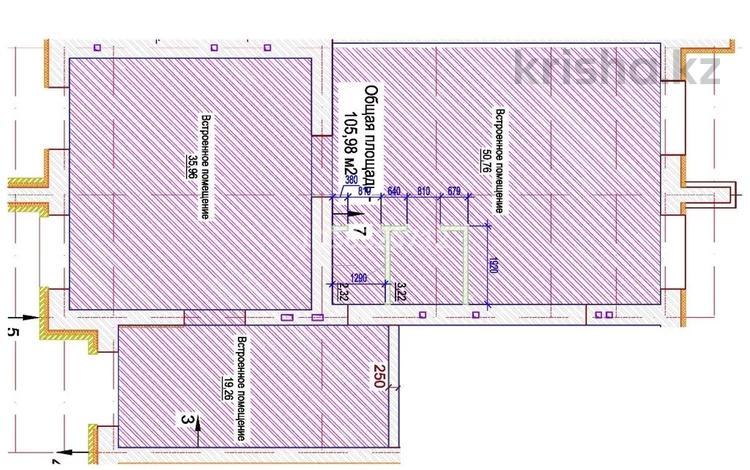Помещение площадью 105.98 м², Е-32 14 за 430 000 〒 в Нур-Султане (Астана), Есиль р-н
