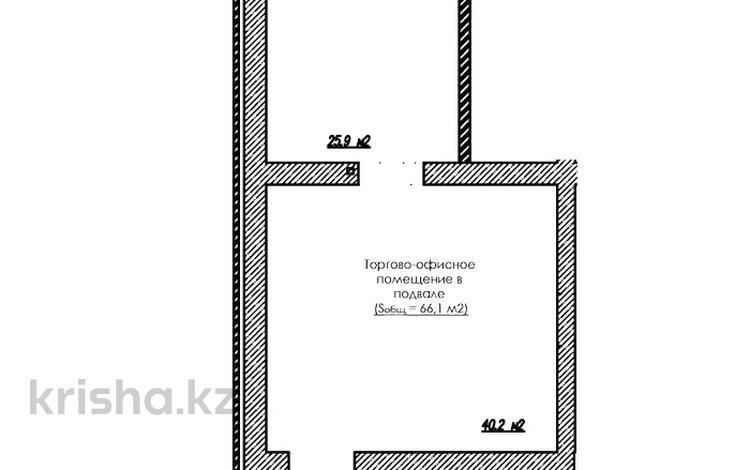 Помещение площадью 66.1 м², проспект Улы Дала — 37-я ул за ~ 16.5 млн 〒 в Нур-Султане (Астана), Есиль р-н