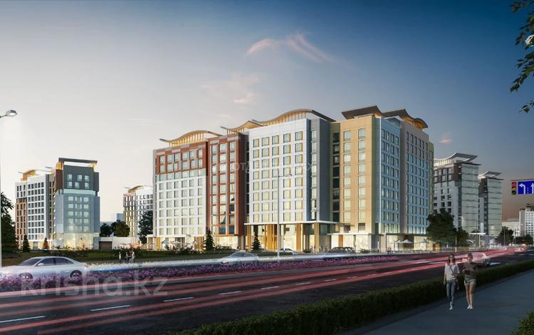 2-комнатная квартира, 75.3 м², Каиыма Мухамедханова за ~ 27 млн 〒 в Нур-Султане (Астана), Есиль р-н