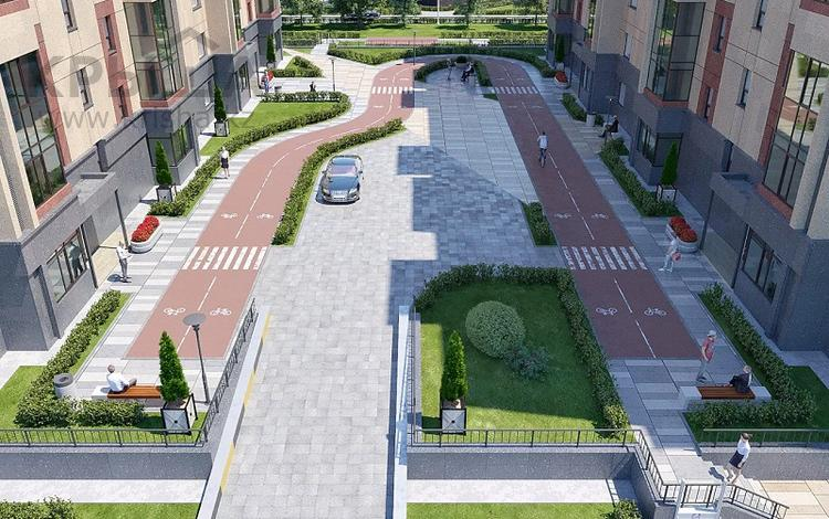 1-комнатная квартира, 48.37 м², Акан Серы — Тлендиева за ~ 12.6 млн 〒 в Нур-Султане (Астане), Сарыарка р-н