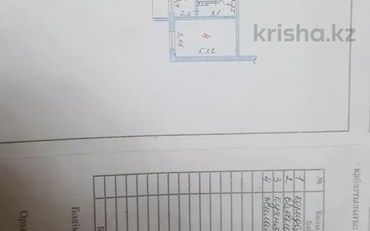 1-комнатная квартира, 33.2 м², 5/5 этаж, 18 мкр 78 за 10.5 млн 〒 в Шымкенте, Енбекшинский р-н