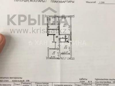 3-комнатная квартира, 72 м², 6/9 этаж, Саина — Абая за 27.8 млн 〒 в Алматы, Бостандыкский р-н — фото 3