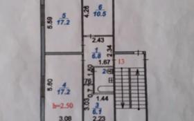 3-комнатная квартира, 61.9 м², 5/5 этаж, мкр Пришахтинск, 23й микрорайон 29 за 9.8 млн 〒 в Караганде, Октябрьский р-н