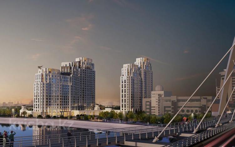3-комнатная квартира, 93.35 м², Макатаева 2 — Наркесен за ~ 46.9 млн 〒 в Нур-Султане (Астана)