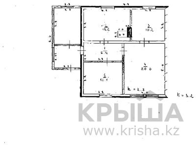 3-комнатный дом, 62.3 м², 6.65 сот., Каптагаева 20 за ~ 1.7 млн 〒 в Уштобе — фото 31