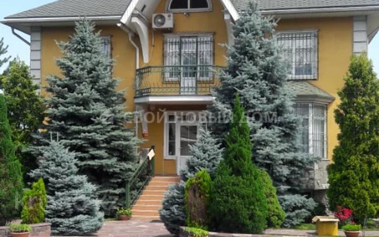 10-комнатный дом, 375 м², 16 сот., мкр Нур Алатау за 225 млн 〒 в Алматы, Бостандыкский р-н