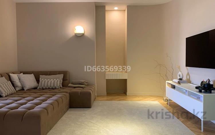3-комнатная квартира, 118 м², 3/8 этаж, Дулати 201а — Рыскулова за 63 млн 〒 в Шымкенте, Аль-Фарабийский р-н