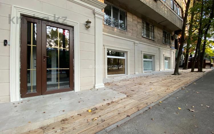Магазин площадью 117.5 м², Кунаева — Жамбыла за 1 млн 〒 в Алматы, Медеуский р-н