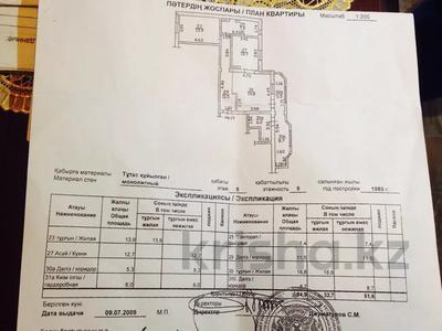 2-комнатная квартира, 84 м², 5/9 этаж, мкр Самал-2, Снегина Дмитрия — Мендикулова за 31.9 млн 〒 в Алматы, Медеуский р-н — фото 7